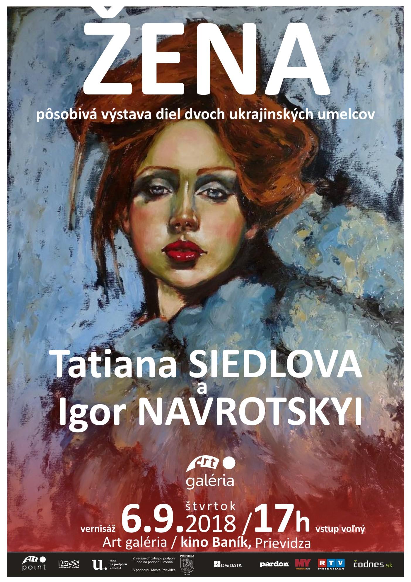 ŽENA - Tatiana Siedlová a Igor Navrotskyi