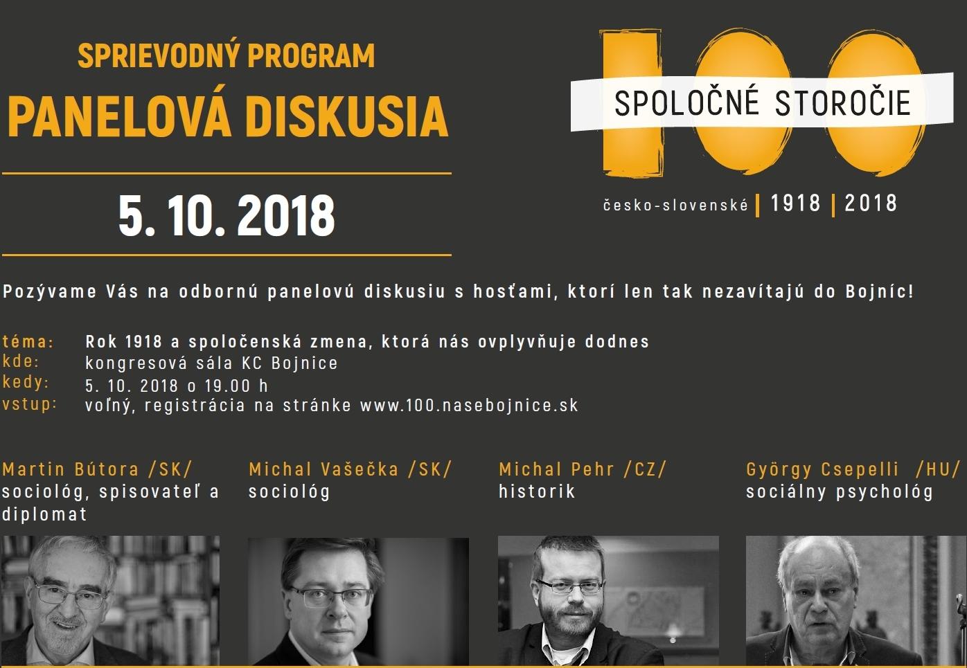 Spoločné storočie: Panelová diskusia