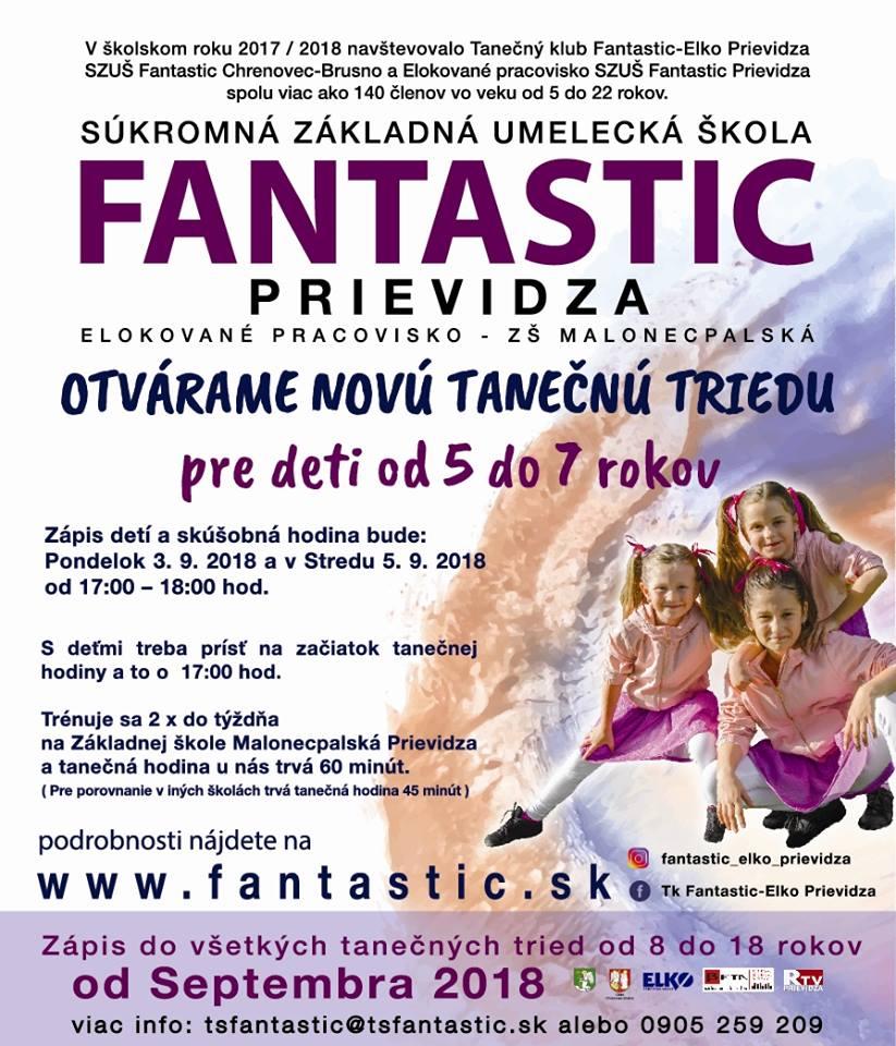 Fantastic v Prievidza - otváranie novej triedy