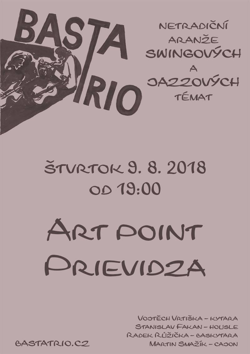 BASTA trio v Art point Prievidza