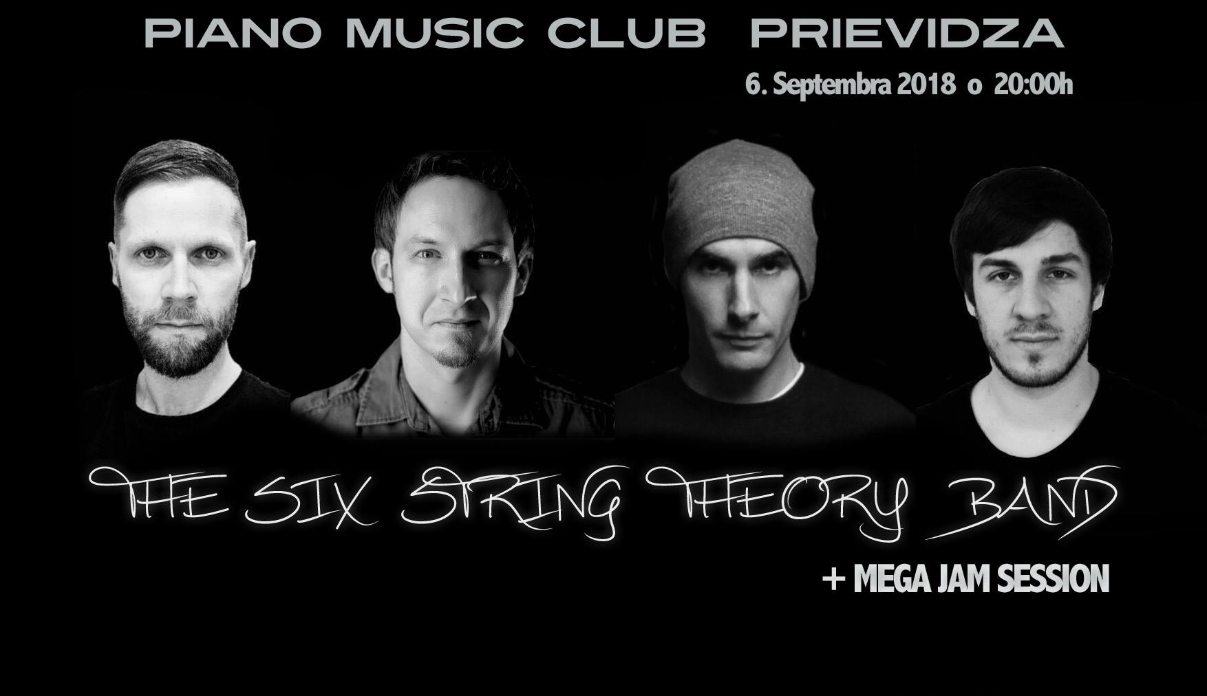 The Six String Theory Band / Open Jam