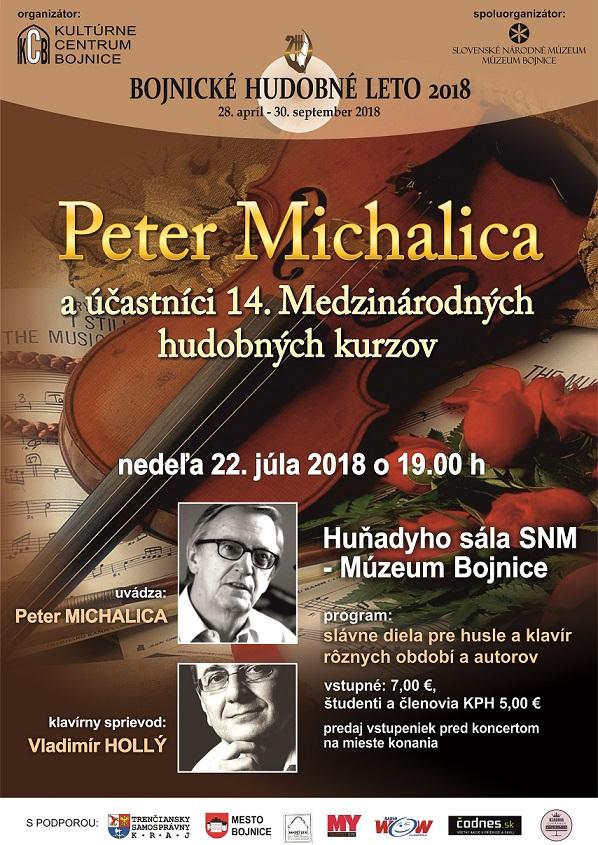 PETER MICHALICA A ÚČASTNÍCI 14. MEDZINÁRODNÝCH HUDOBNÝCH KURZOV