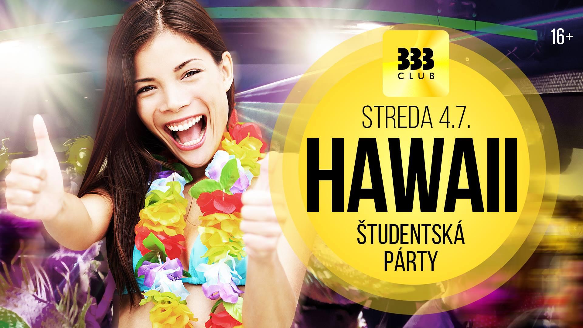 Hawaii Párty 16+ /// Str 4.7.