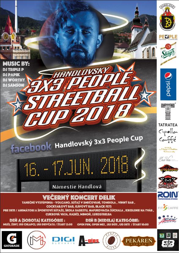 Handlovský 3X3 People Streetball Cup 2018