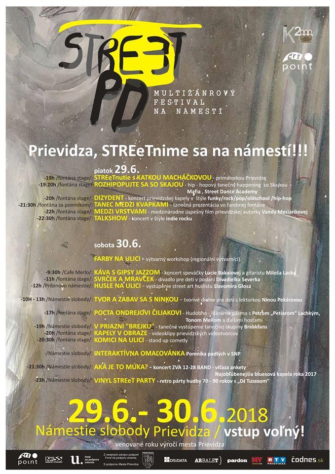 Stre(e)t PD, multižánrový festival na námestí