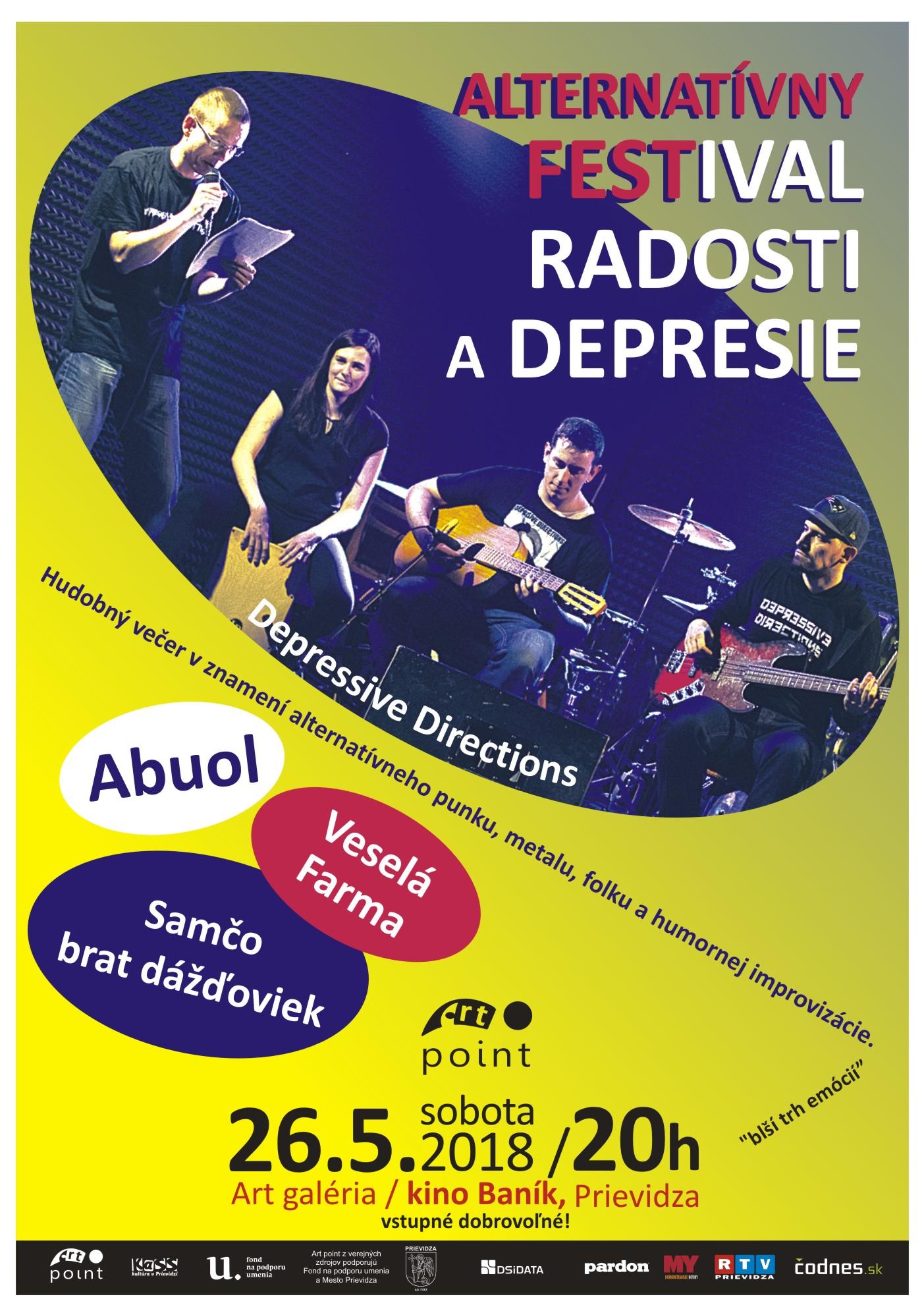 Alternatívny festival radosti a depresie