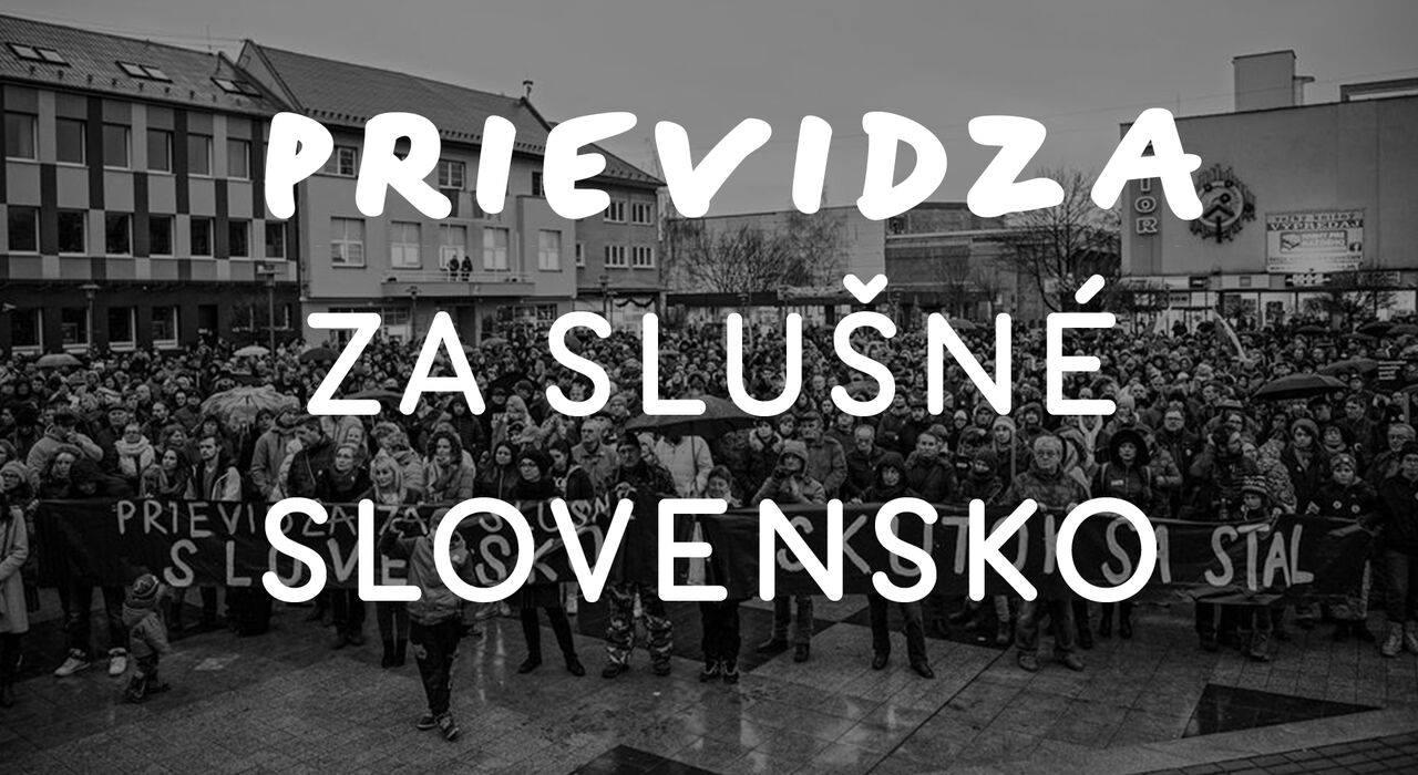 Prievidza za slušné Slovensko
