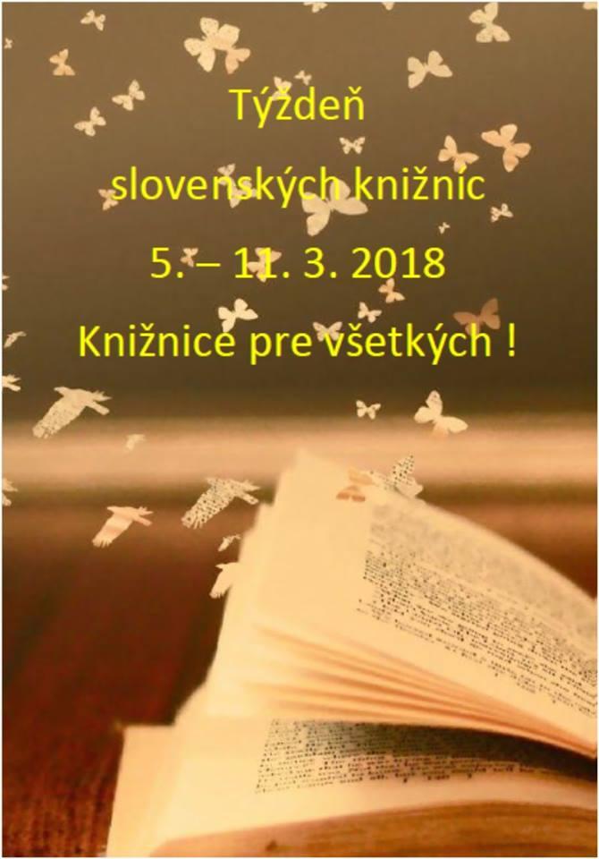 Týždeň slovenských knižníc v Mestskej knižnici M. Mišíka