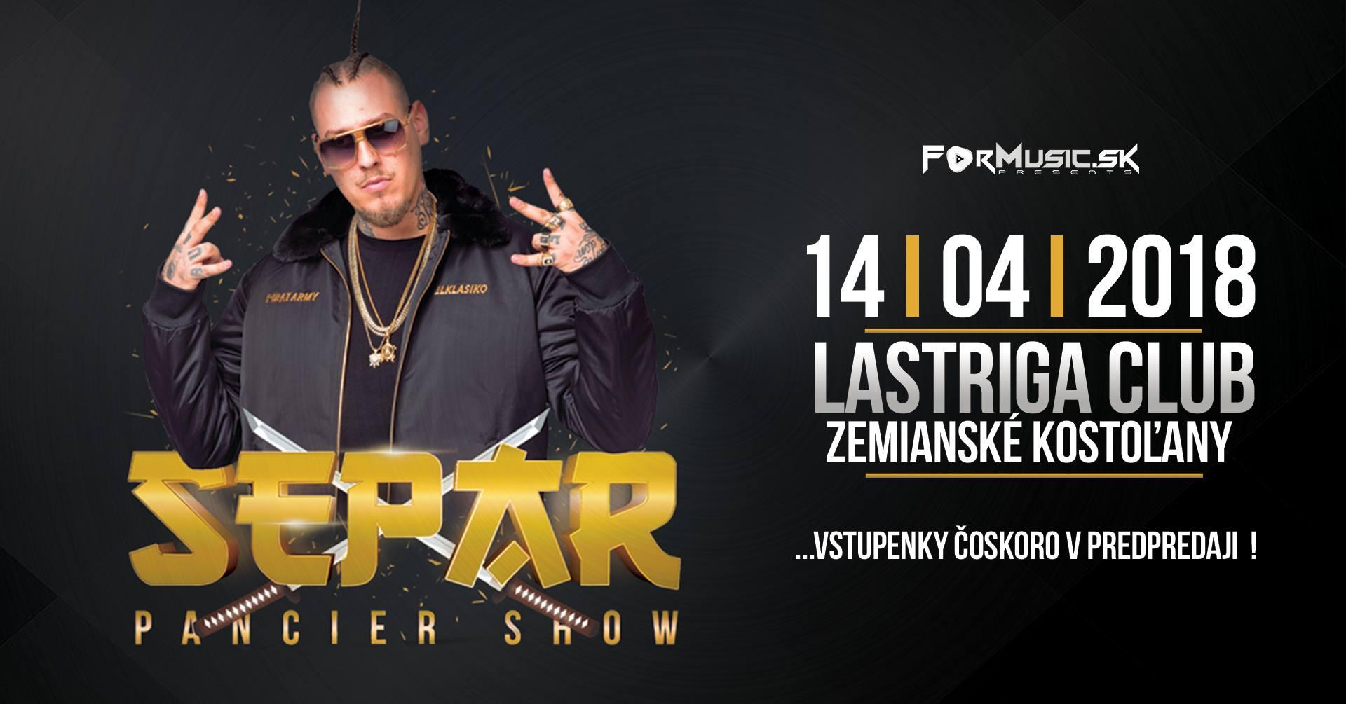 Separ Pancier Live 14.4 @ Lastriga club