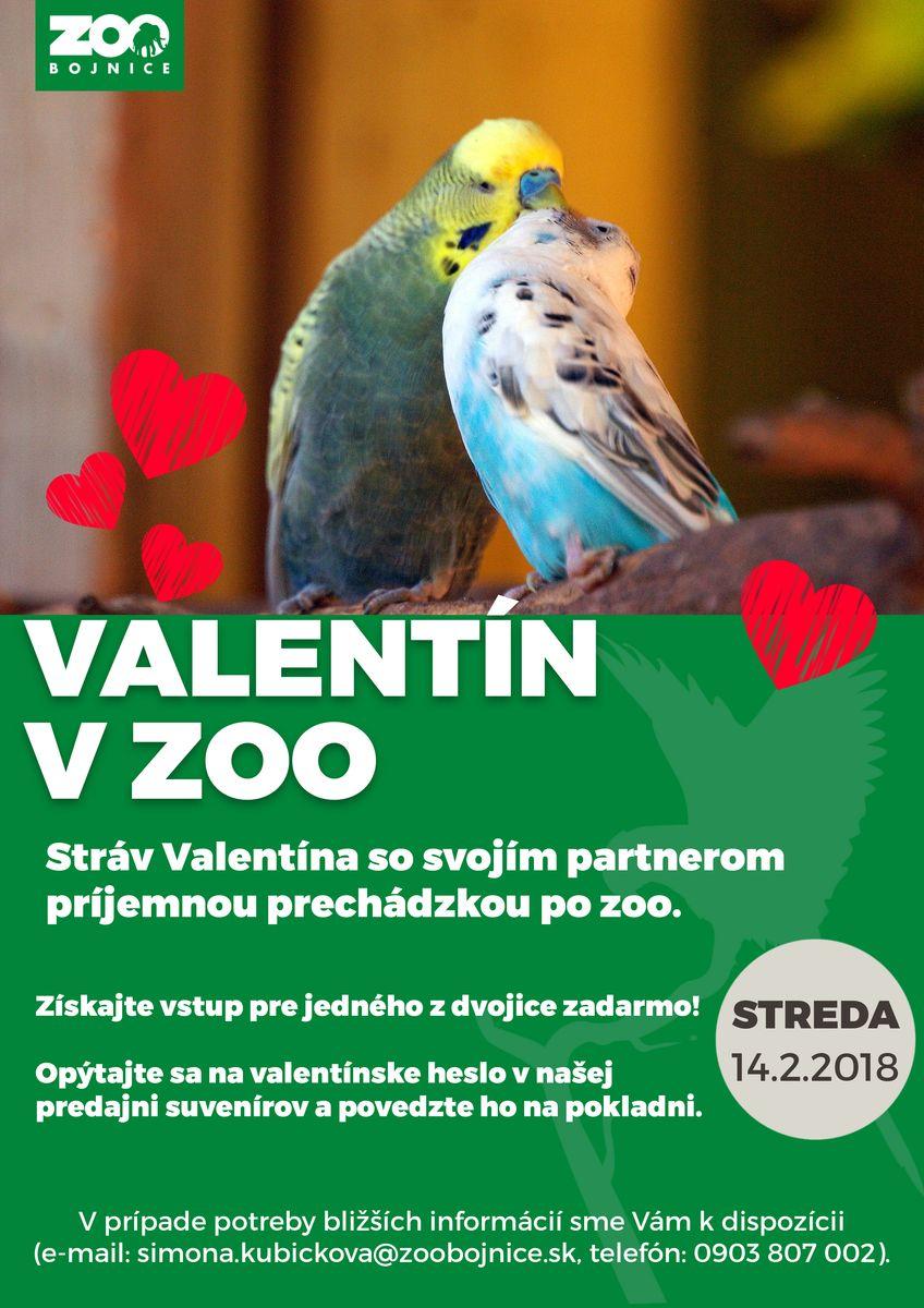 Valentín 2018 v Národnej zoo Bojnice