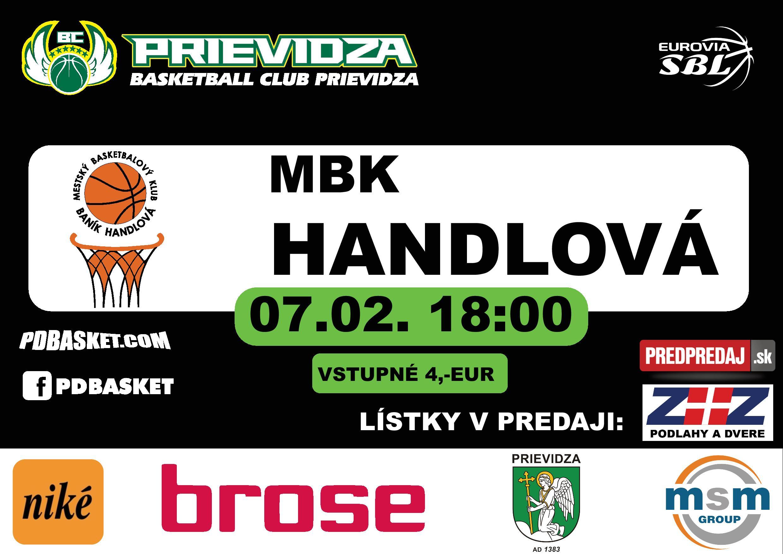 Derby: BC Prievidza - MBK Handlová