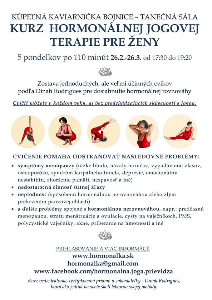 Postupný kurz hormonálnej jogovej terapie pre ženy podľa Dinah Rodrigues