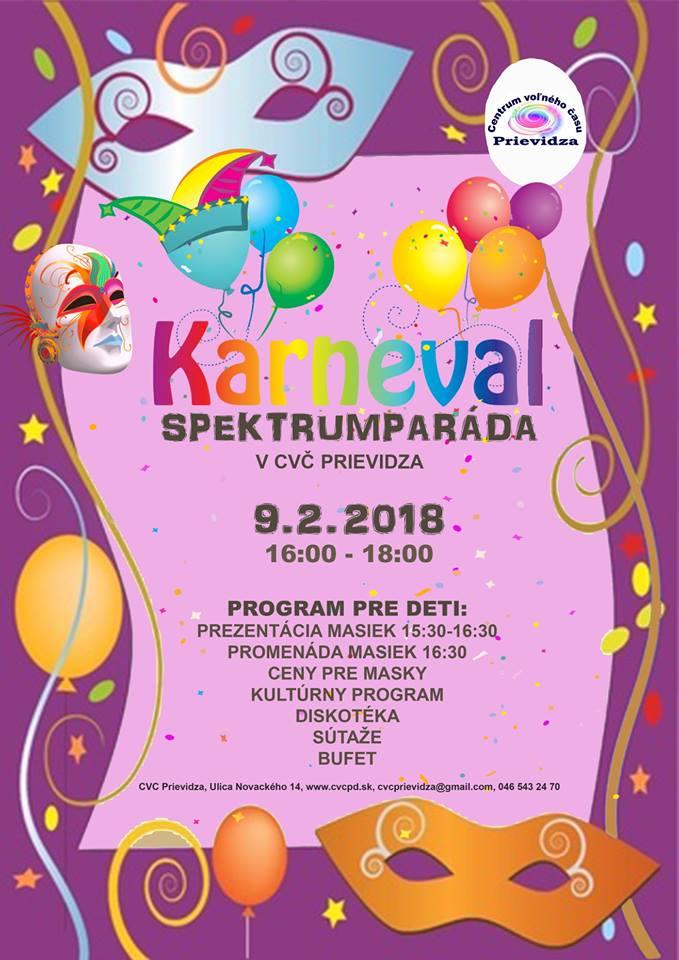 """Detský karneval - """"Spektrumparáda"""""""