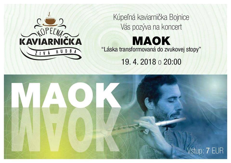Koncert MAOK - Bojnice 2018