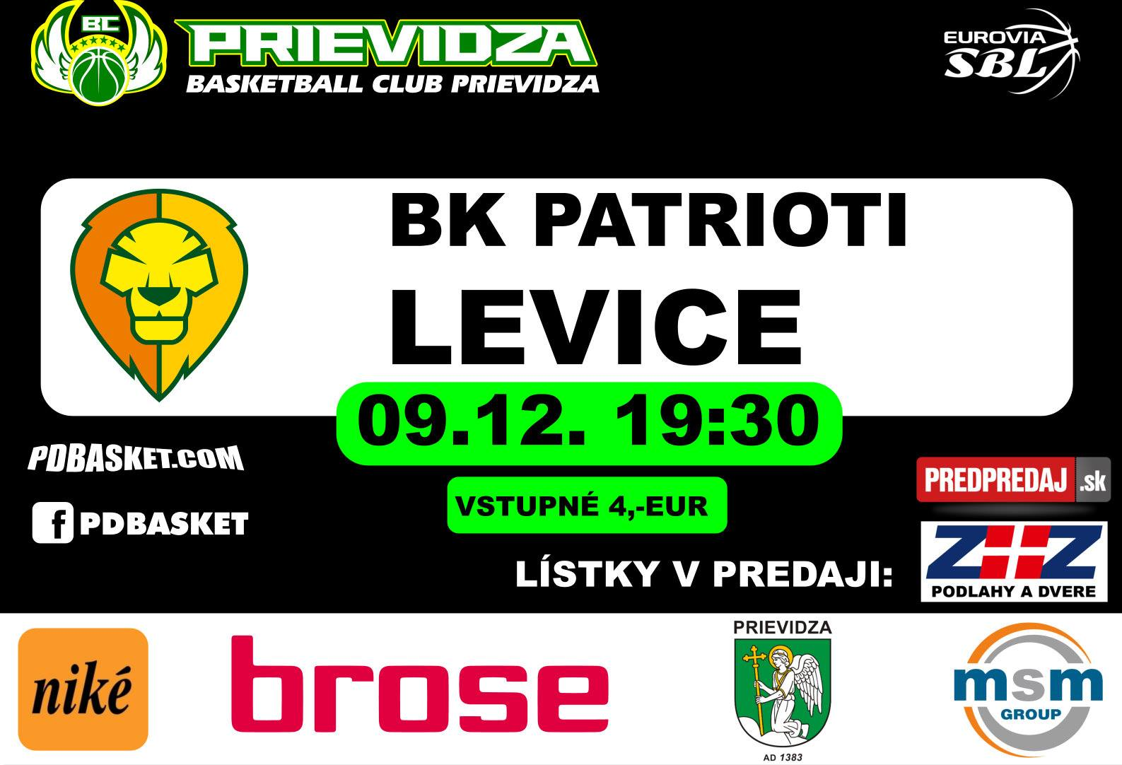 BC Prievidza - Levice