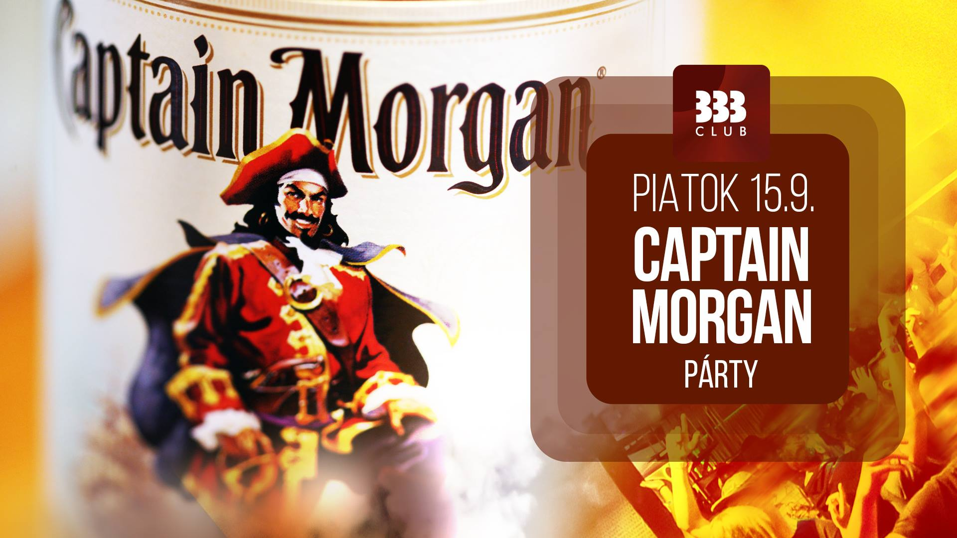 ☆ Captain Morgan Párty ☆