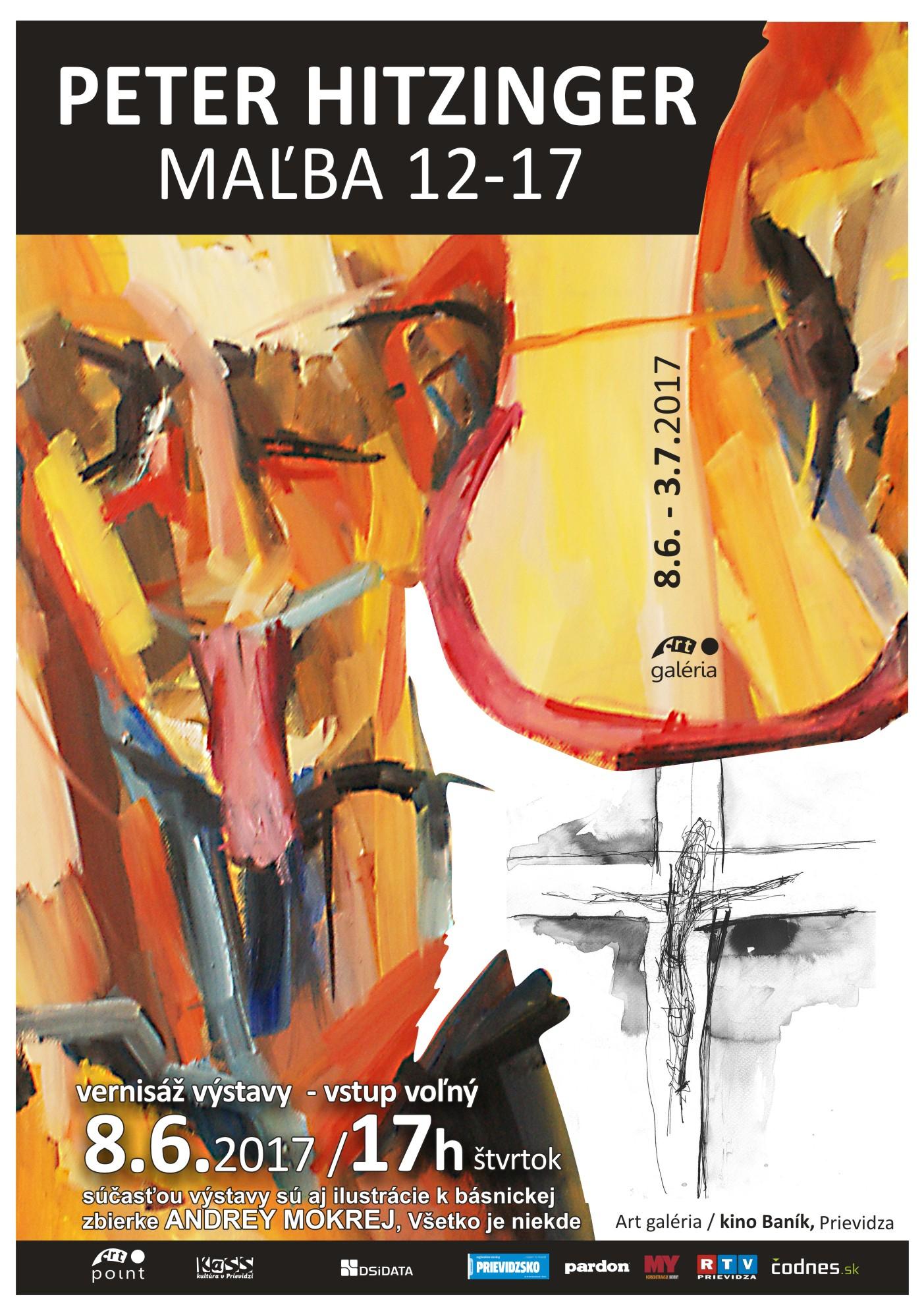 Peter HITZINGER - Maľba 12-17