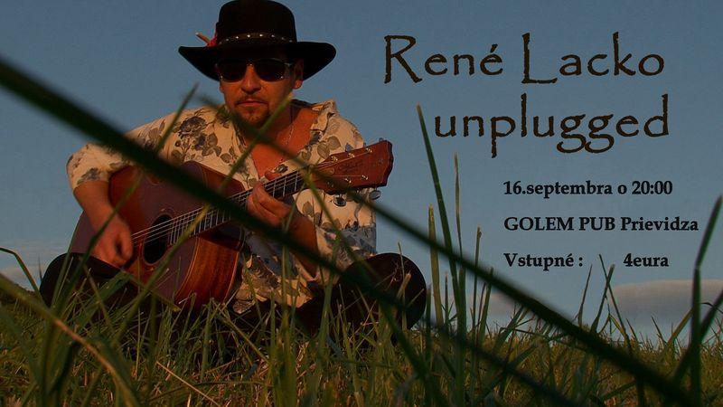 Rene Lacko unplugged