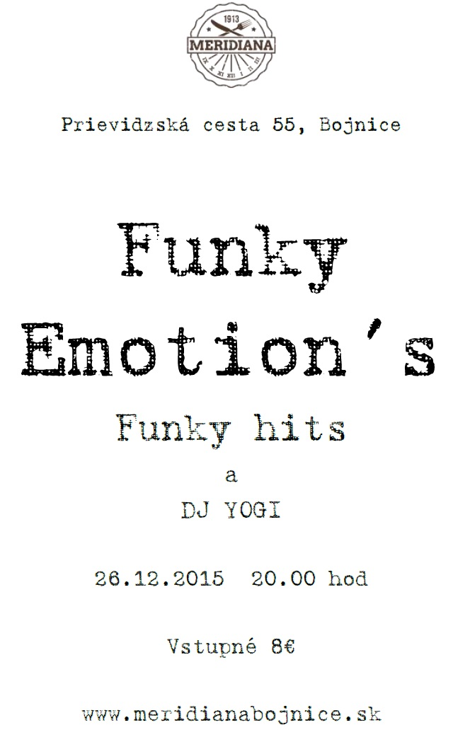 Funky emotions