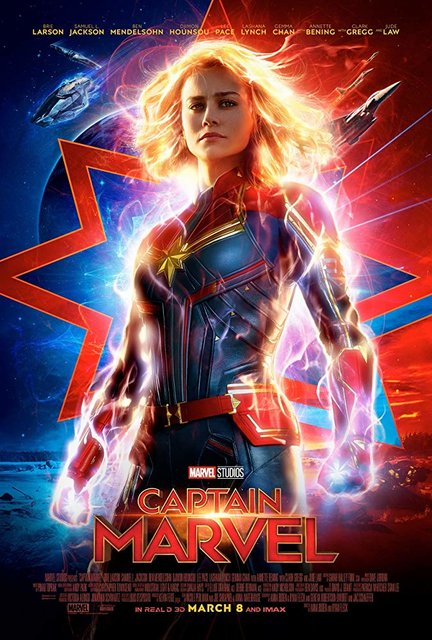 Captain Marvel 2D (Captain Marvel)