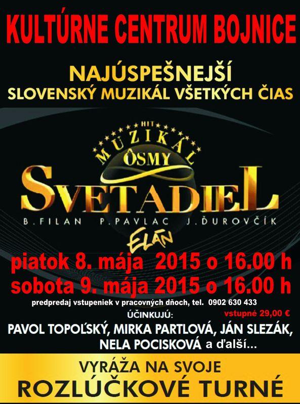 Ôsmy svetadiel - Divadlo Nová scéna Bratislava
