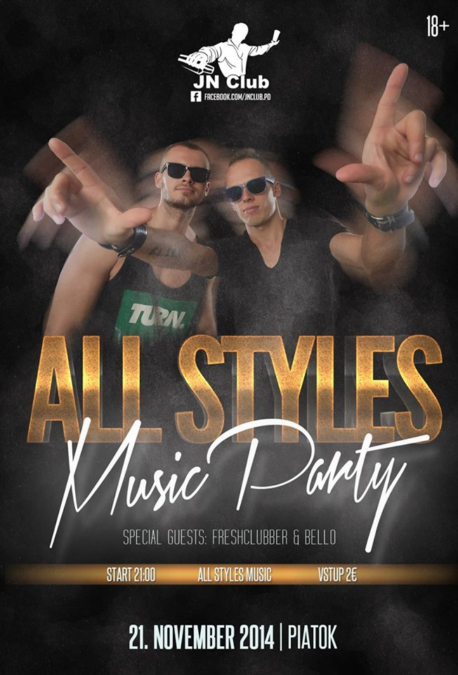 All Styles Music Party