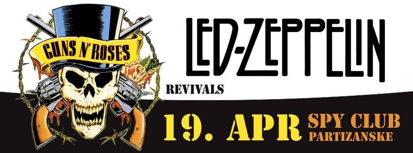 LED ZEPPELIN & Guns N' Roses - revival @ SPY club