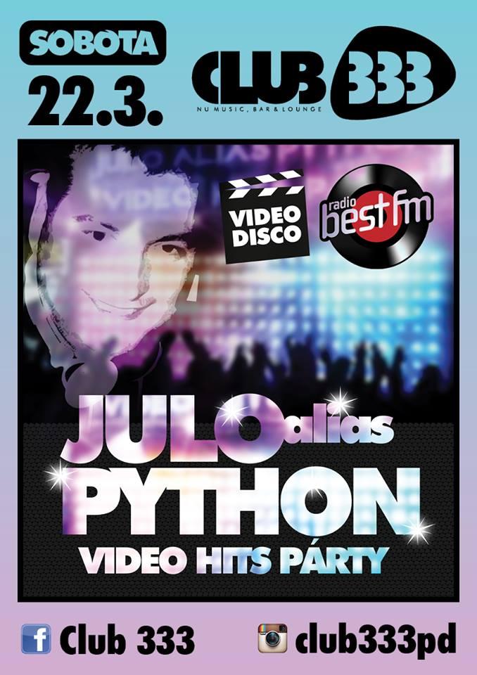 JULO ALIAS PYTHON/ VIDEO HITS PARTY