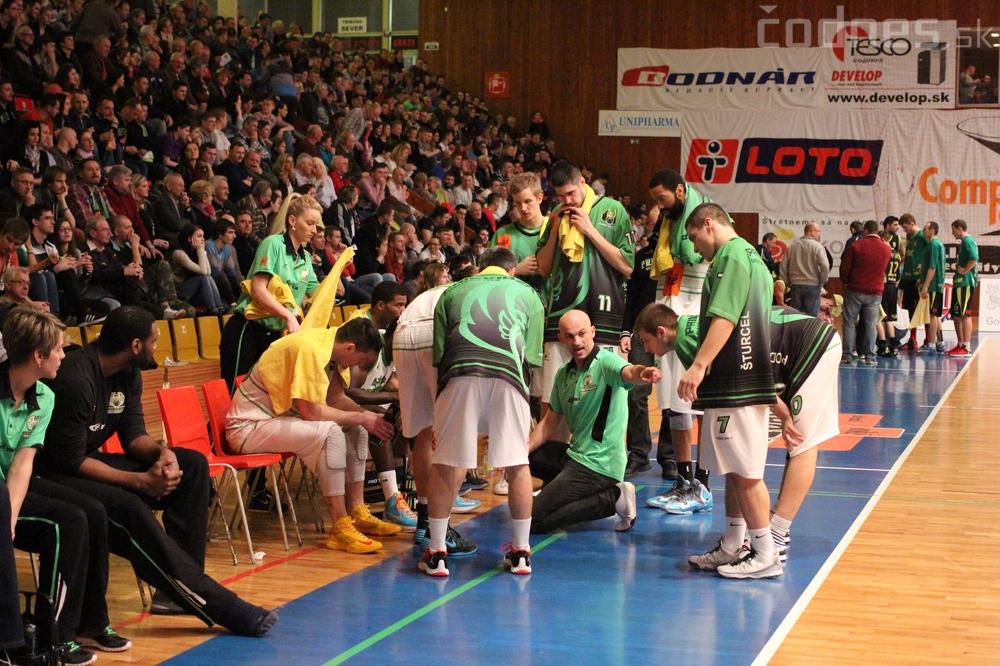 2. zápas štvrťfinále play-off: BC Prievidza - Banská Bystrica