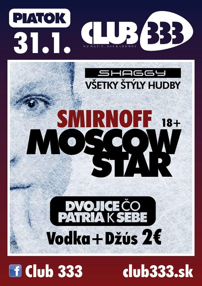 SMIRNOFF VODKA - MOSCOW STAR PÁRTY