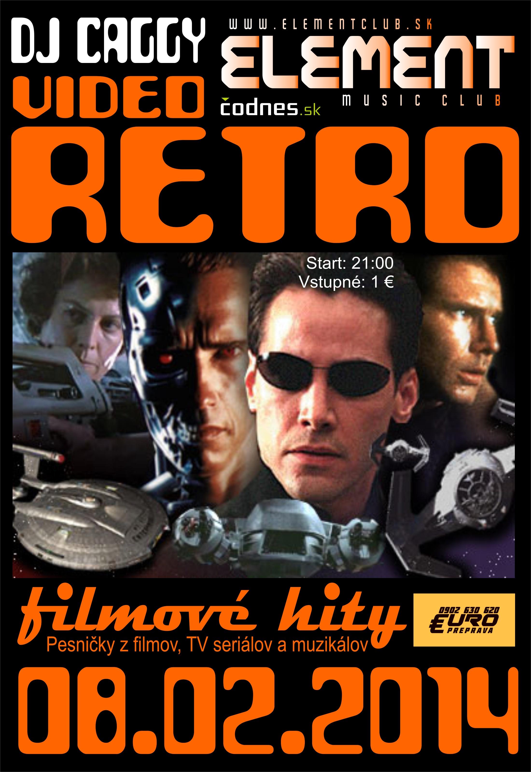 VIDEO RETRO by CAGGY (Filmové hity)