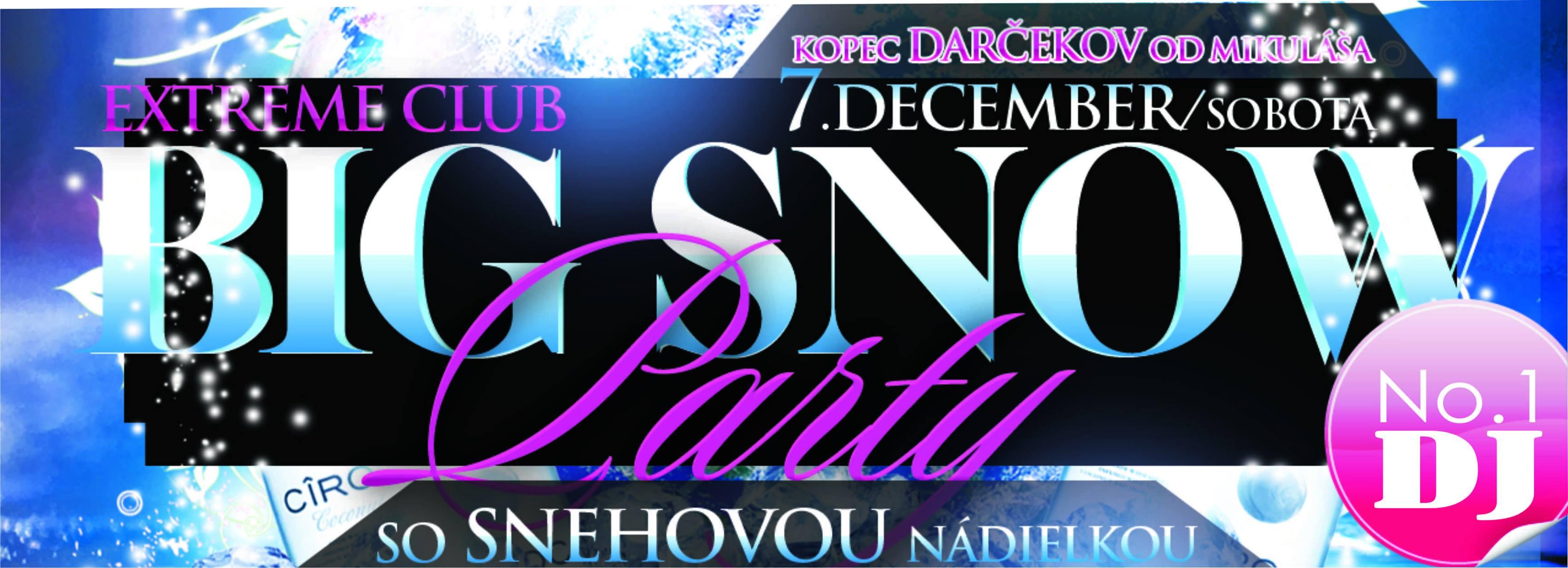 Big snow party