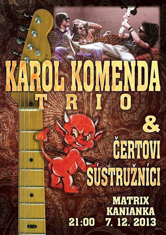 Karol Komenda Trio + Čertový sústružníci