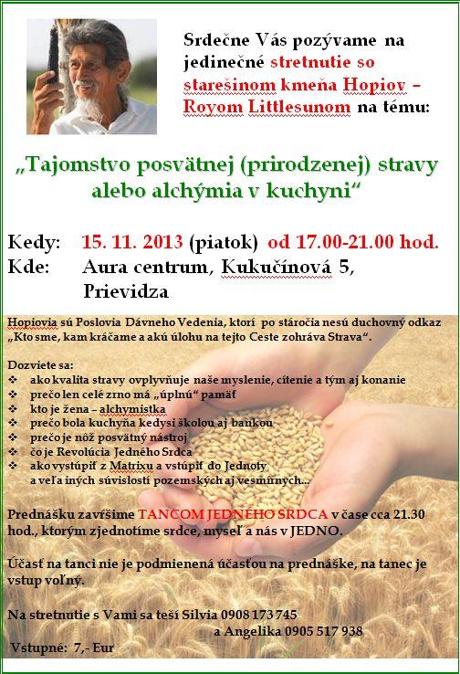 Tajomstvo posvätnej (prirodzenej) stravy alebo alchýmia v kuchyni