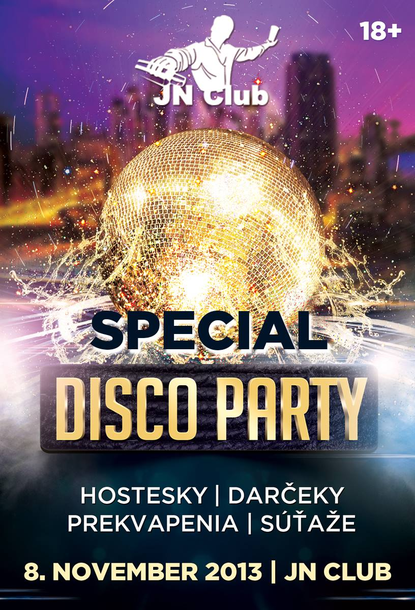 Special FRIDAY DISCO PARTY