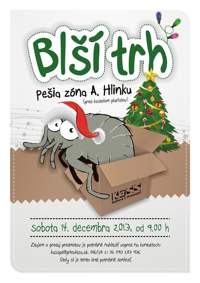 Vianočný blší trh 2013