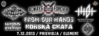 Always & Forever fest (Winter edition)