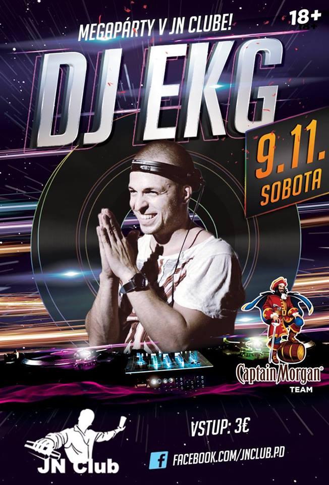 DJ EKG v JN Clube