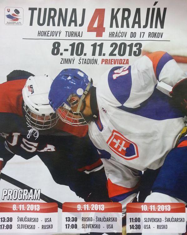 Hokej: Turnaj 4 krajín - Slovensko - USA
