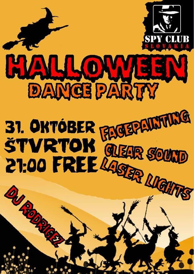 HALLOWEEN DANCE PARTY @ SPY CLUB