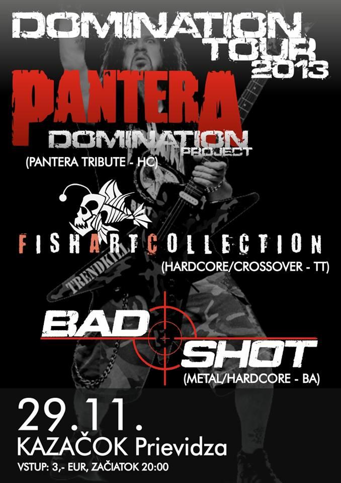 Domination tour 2013 Prievidza