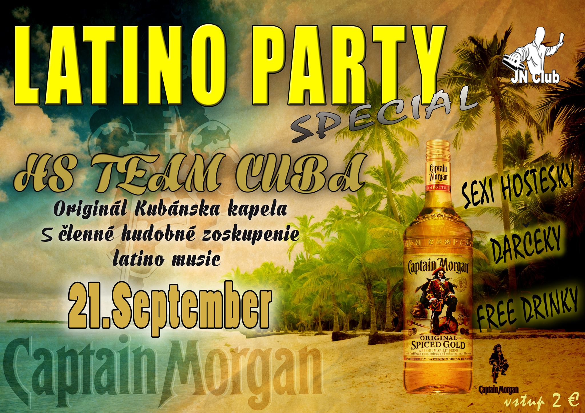 LATINO PARTY special HS TEAM CUBA