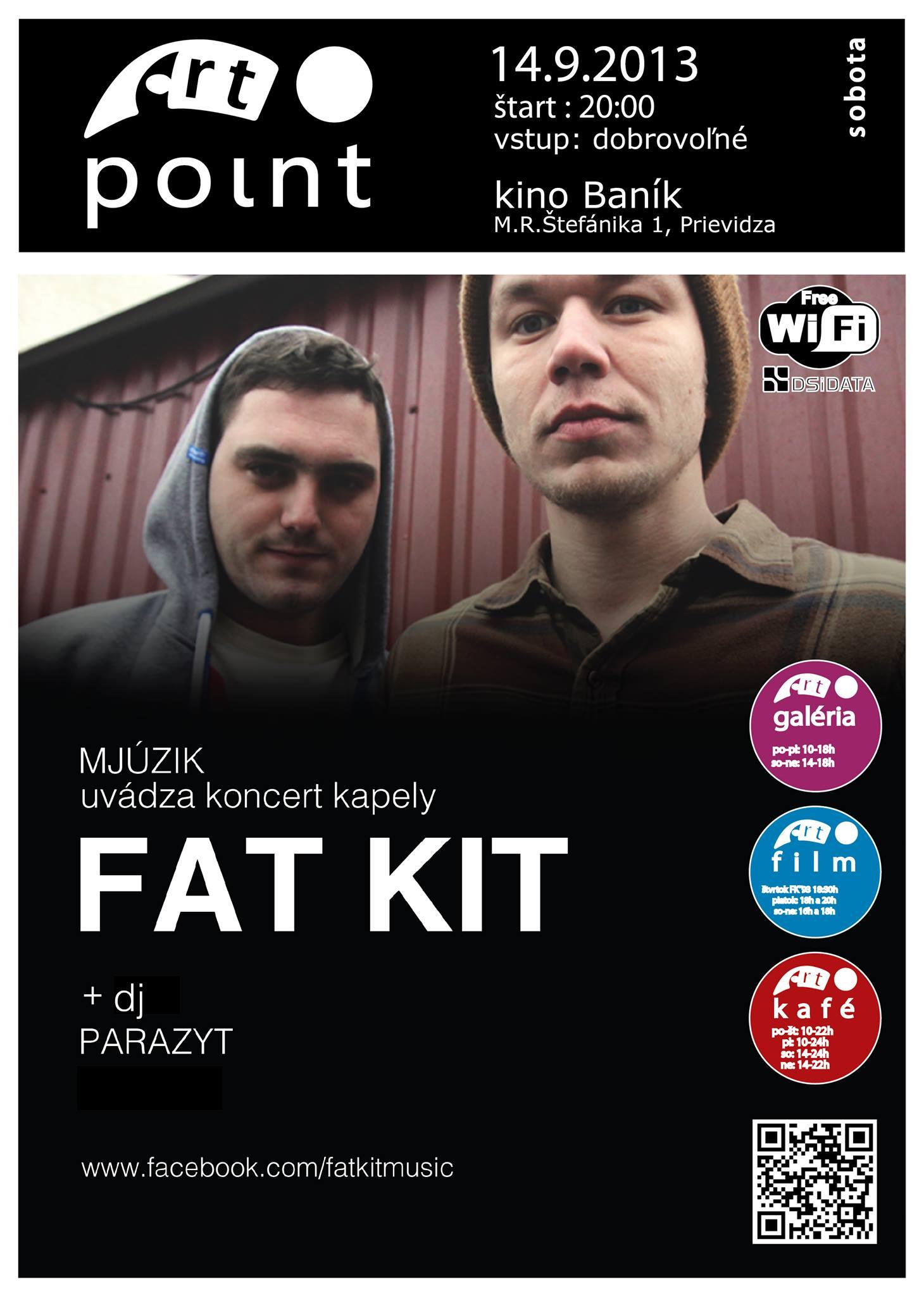 Mjúzik - FAT KIT live