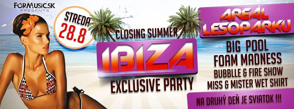 IBIZA Beach & Foam party