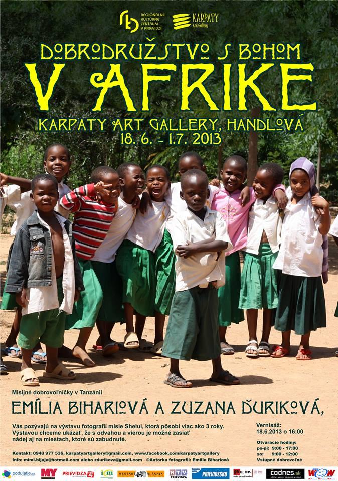 DOBRODRUŽSTVO S BOHOM V AFRIKE