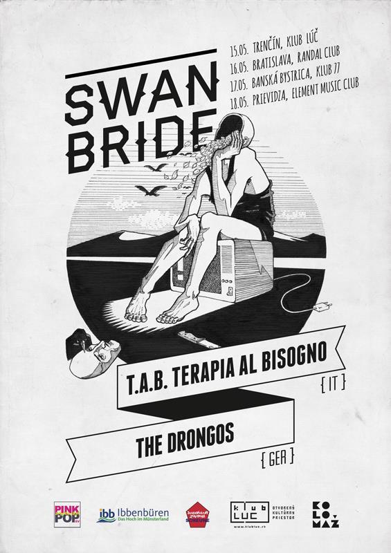Swan Bride + T.A.B. (ITA) + The Drongos (GER)