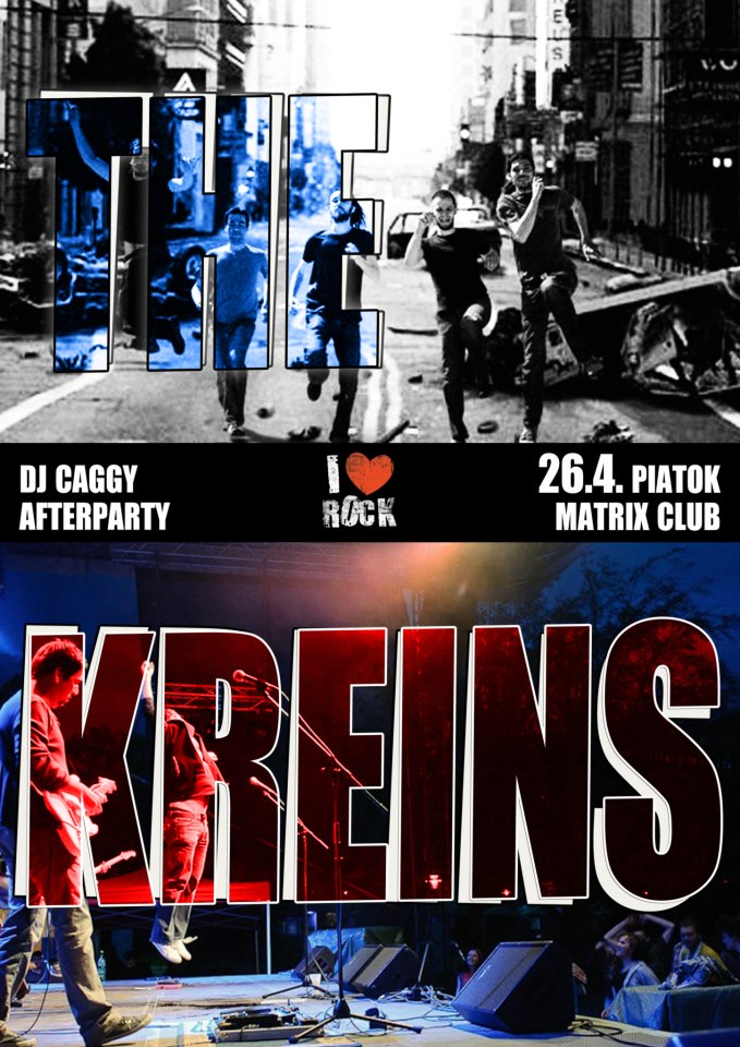 Koncert - The Kreins & Dj Caggy Afterparty