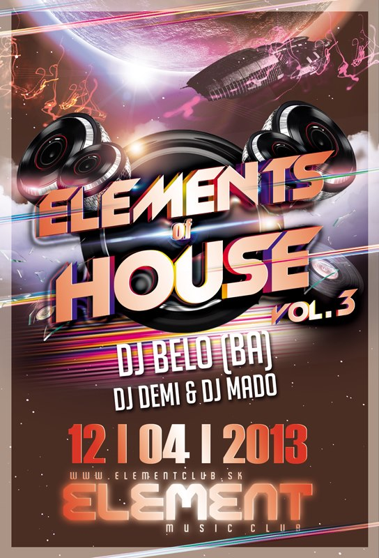 ELEMENTS of HOUSE vol.3