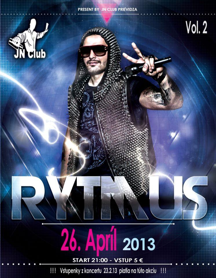 RYTMUS live koncert