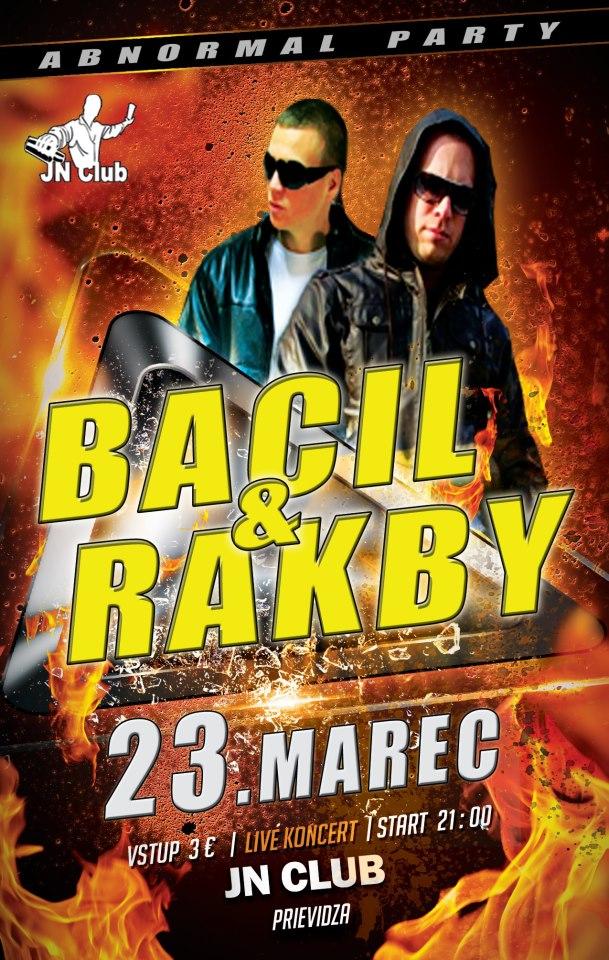 BACIL & RAKBY live koncert